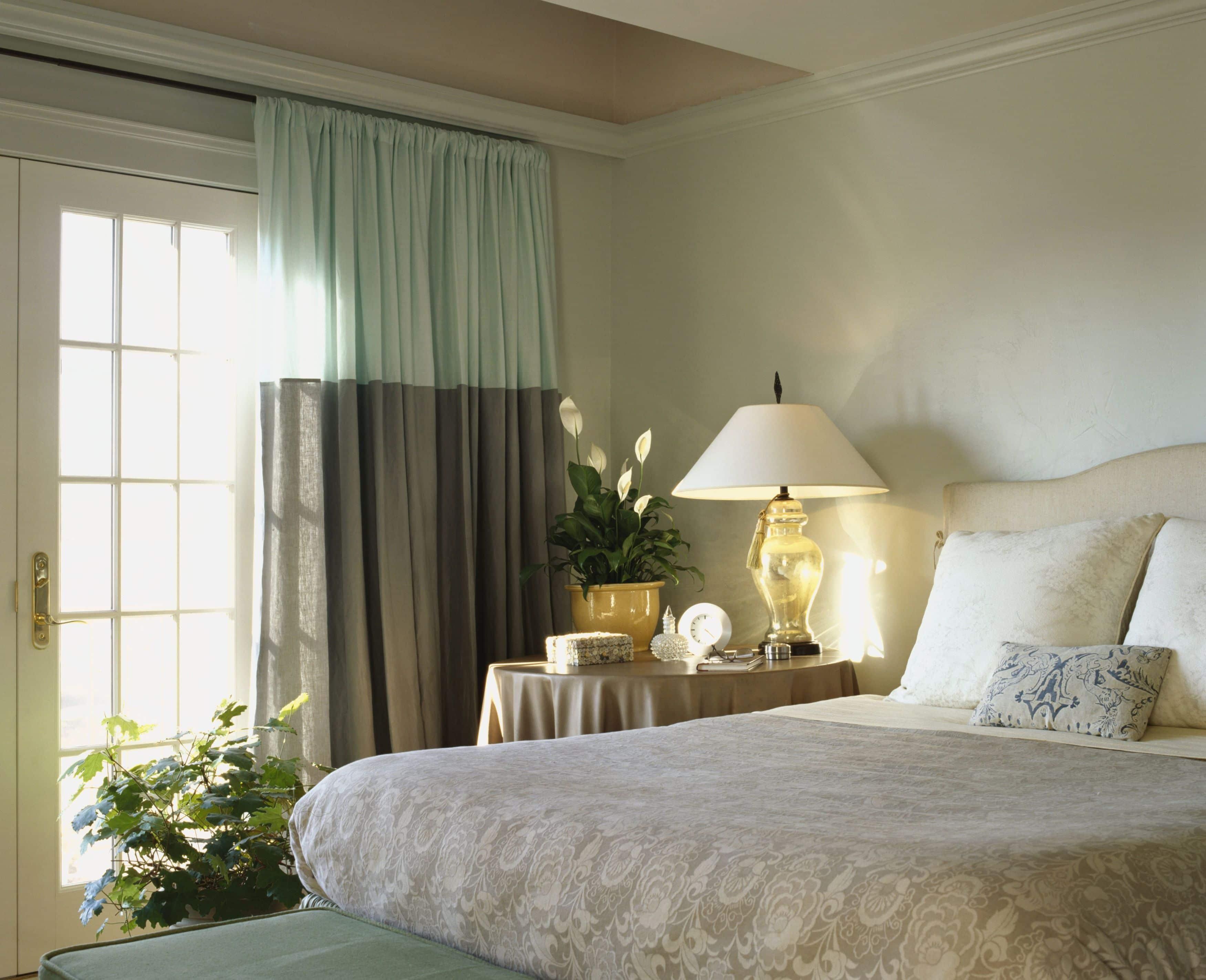Chọn rèm cửa theo màu sơn tường chuẩn ý nhà thiết kế