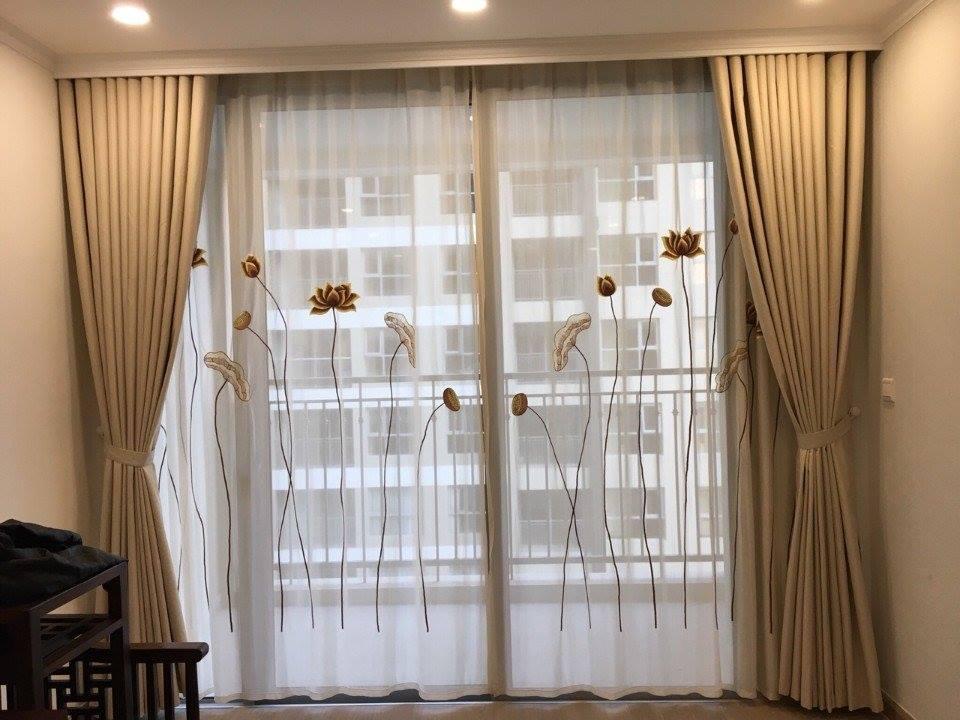 Hướng dẫn chọn rèm cửa phòng khách phù hợp nhất